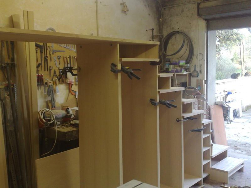 Il falegname artigiano pomezia roma armadi camere da for Portascarpe da armadio ikea